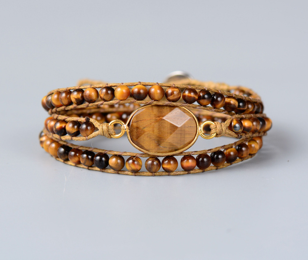 Tiger Eye With Natural...