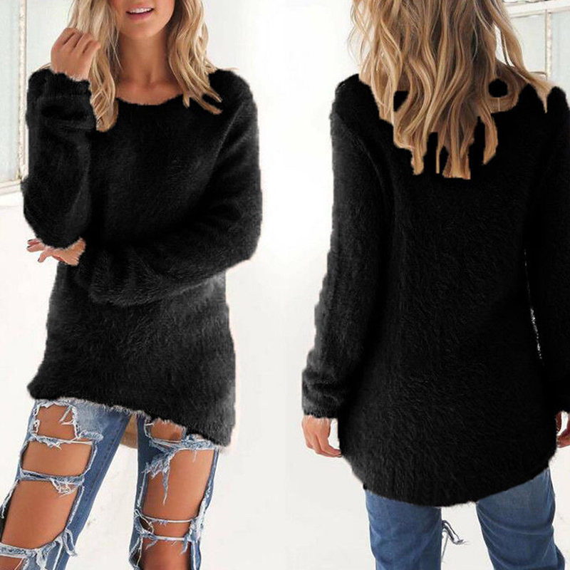 Betere Cotton women Sweater Autumn Winter Fluffy Women Pullover Warm YP-74