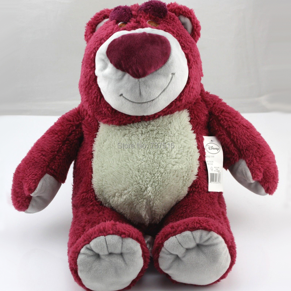 New TOY STORY 3 LOTSO BEAR 15 Plush Strawberry Scent Stuffed Doll toys & Plush Animals for children's gift