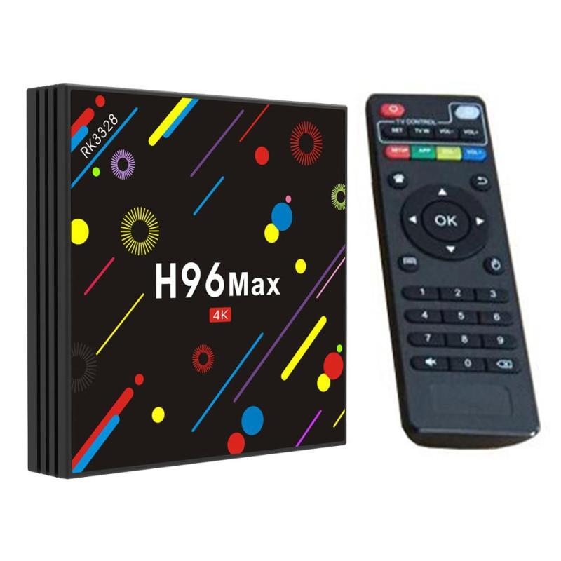 H96 Max H2 Android 7.1 TV Box RK3328 Quad Core 64Bit 4GB/32GB Dual WiFi H.265 UHD 4K VP9 HDR Bluetooth 100M LAN Media Player andrid 7 1 tv box h96 max h2 rk3328 quad core 64bit 4gb 32gb ddr wifi 2 4g 5g bluetooth media player support multi language