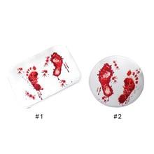2019 Blood Novelty Bathroom Bath Mat Soft Carpet Rug Water Non-slip Absorption 40*60cm Doormat Drop Ship Sale Modern Style