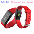 New Stylish A6 Bluetooth Heart Rate Monitoring Smart Bracelet Health Monitoring Step Movement Bracelet