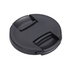 Image 1 - 10 Stks/partij Hoge Kwaliteit 49 52 55 58 62 67 72 77 82Mm Center Pinch Snap On cap Cover Voor Canon Camera Lens