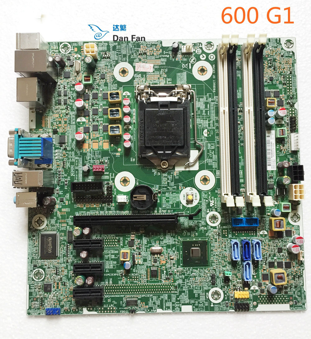 795972 001 For HP ProDesk 600 G1 SFF Desktop Motherboard 696549 003 795972 501 LG1150 Mainboard
