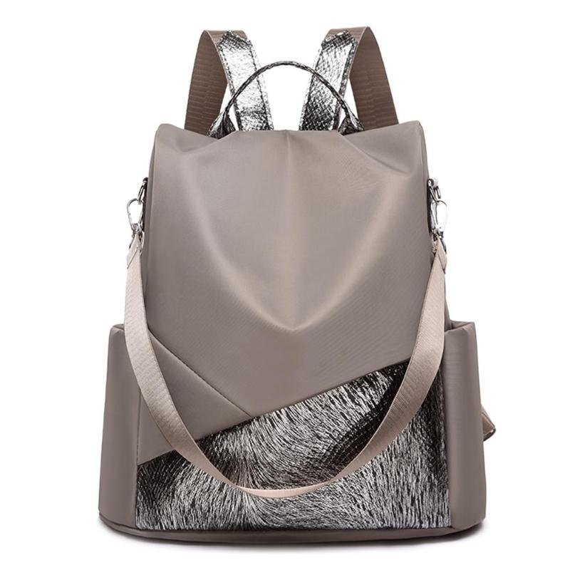 Anti-theft Travel Backpacks Women School Knapsack Shoulder Top-handle Bags Totes