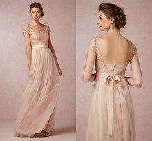 2014 Hot Lace Detachable Modest Long Bridesmaid Dresses Formal Wedding Party Dress Guest Gown Vestido de Madrinha de Casamento