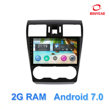 9″ Android 7 Car DVD Multimedia Player GPS For Subaru Forester XV WRX 2012-2014 audio car radio stereo navigator bluetooth wifi