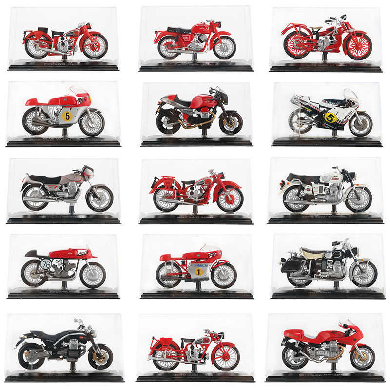 1:22 Alloy Motorcycle Model Toy Racing Motor World Champion Sport Motorbike GT Norge California 850 Collection Car Toys For Kids