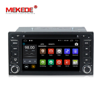 MEKEDE Wholesale!Pure Android 7.1 Car Navigation GPS DVD player for Subaru Forester/Toyota Hilux yaris VIOS Camry Corolla RAV4