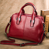 GESUNRY Genuine Leather Bag Famous Brands Women Messenger Bags Women Handbags Designer High Quality Women Bag