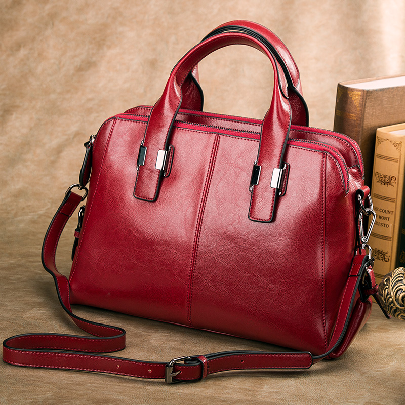 GESUNRY Genuine leather bag famous brands women messenger bags women handbags designer high quality women bag shoulder bag tote genuine leather patckwork bags women casual messenger bag women s lady colorful zipper shoulder designer handbags high quality
