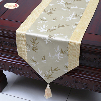 Proud Rose атласная настольная дорожка настольный флаг Скатерть простой китайский ветер чай настольная дорожка s кровать украшение для дома с и...
