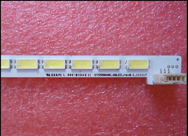 lj64 03515a עבור TCL L55V7300A-3D סעיף מנורה LJ64-03515A STS550A66-80LED-REV0.1 1piece = 80LED 676MM (2)
