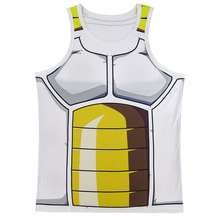 Men Dragon Ball Z Goku 3D Vest Vegeta Cosplay Tank Top Sleeveless Summer