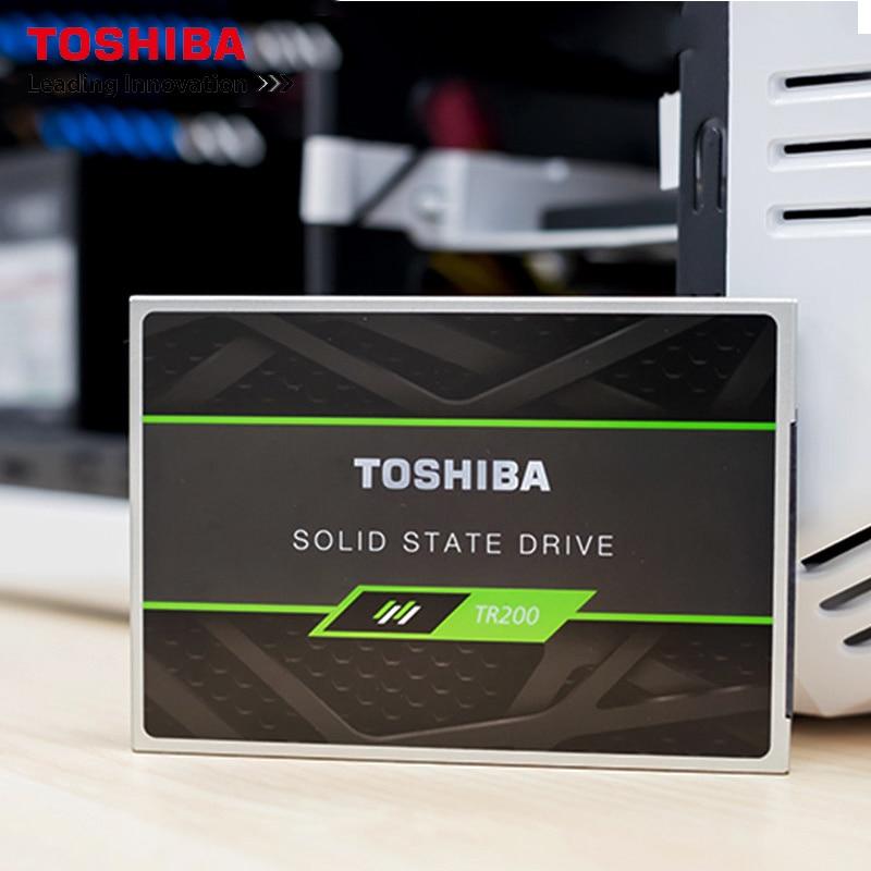 Unidade de Estado Disco de Estado Original Toshiba Interno Built-in Sólido 480 gb 5400 Rpm Flash Tlc 2.5 Sata Ssd Tr200