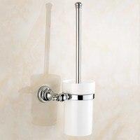 Toilet Brush Holder Wall Mounted Lavatory Brush Toilet Brush & Holder Set Bathroom Accessories KD598