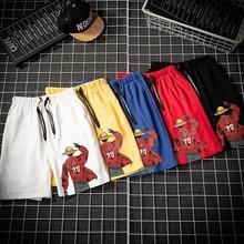 Harajuku Men's Beach Shorts Summer Printing Men's Shorts Elastic Waist M-4XL Men's Beach Shorts m 4xl