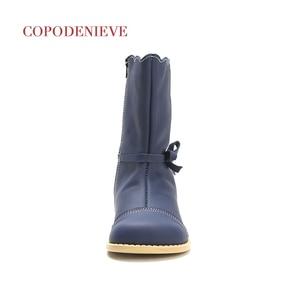 Image 3 - COPODENIEVE kış sıçrama su geçirmez kız çizmeler kayak bezi sıcak kar botları çocuk Boys, polar çocuk ayakkabı kızlar anne kızı