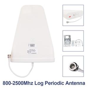 Image 5 - Écran LCD GSM 900 UMTS 2100 mhz répéteur double bande GSM 2G 3G LTE amplificateur de téléphone cellulaire amplificateur Mobile + antenne LPDA/plafond