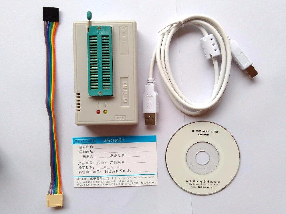 TL866CS programmer +13 universal adapters PLCC Extractor