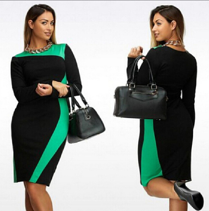 2017 newest autumn spring Hot sales Ladies fashion elegant bump retro geometric design long sleeves slim