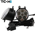TC-X One Pair Car LED Foglights 18W 6000K White LED Fog Light For Lexus Scion xA LX570 Toyota RAV4 Camry Highlander Venza 4X4