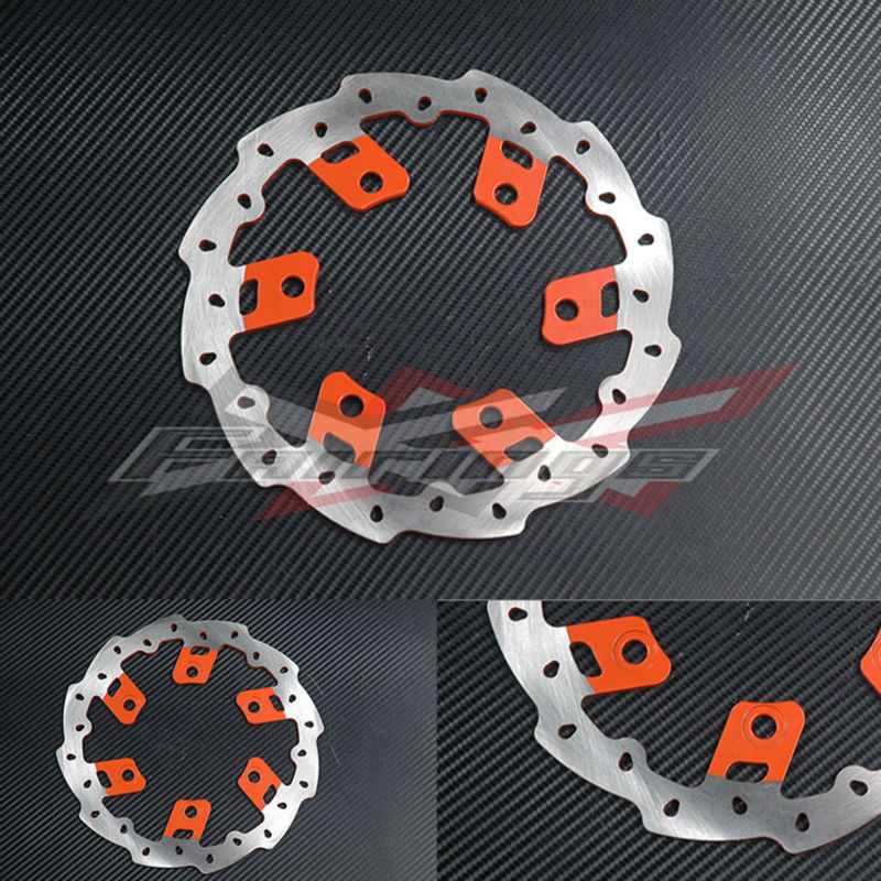 SHIPPING FREE CNC Aluminium Rear WAVE BRAKE DISC Fit FOR KTM 125 200 390 DUKE 2012-2013 free shipping aluminium wave motorcycle accessories front brake disc rotor disk for ktm 125 200 390 duke 2013 2014
