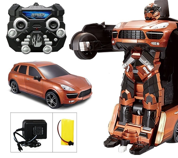 Rc Car Action >> Jiaqi Tt664 2 4g Rc Remote Control Deformation Robot Rc Car Robot