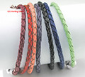 23CM Leather bracelets Wholesale With 925 sterling silver Clasp Fits European Charms Beads DIY gift for women fine jewelry
