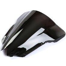 Для Yamaha YZF R6 2008 2009 2010 2011 2012 2013 Черный лобового стекла дымчатое лобовое стекло