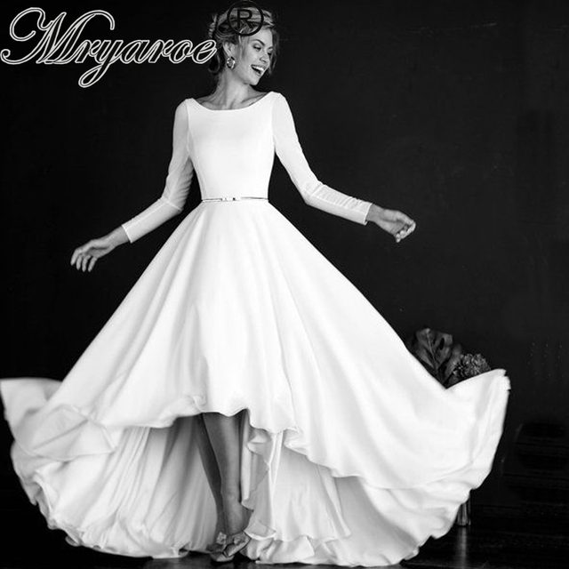 Scoop Neckline Dress