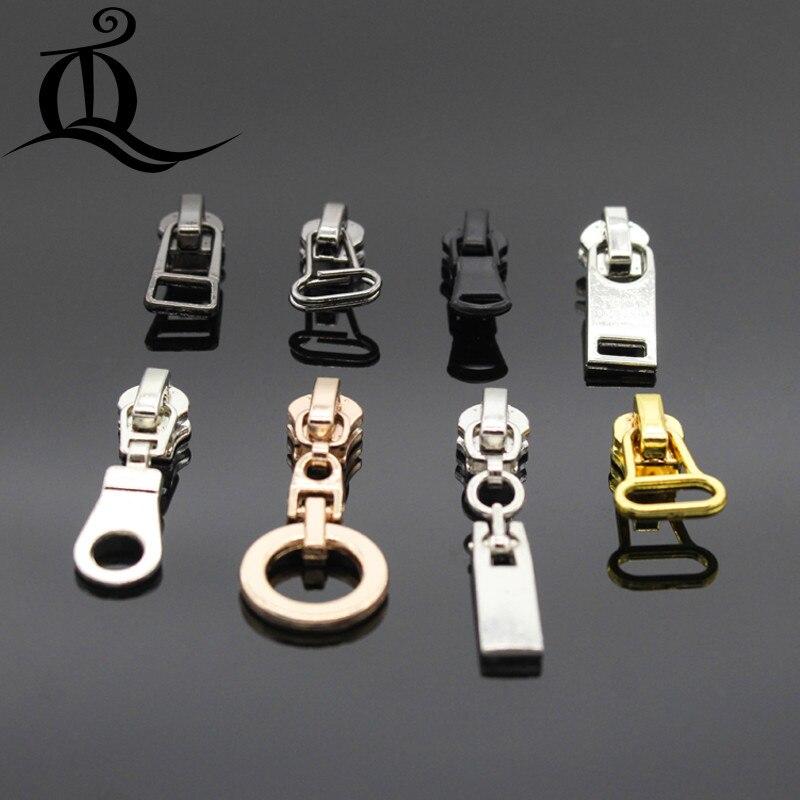 5 pcs 3# mix pearl zipper repair kits zipper pull Metal zipper slider,zipper head,Garment,bag and suitcase accessories,clothes,b