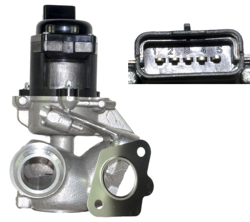 <font><b>EGR</b></font> Valve For Citroen Berlingo C2 C3 C4 C5 Dispatch Xsara Picasso <font><b>1.6</b></font> <font><b>HDI</b></font> 161859 image