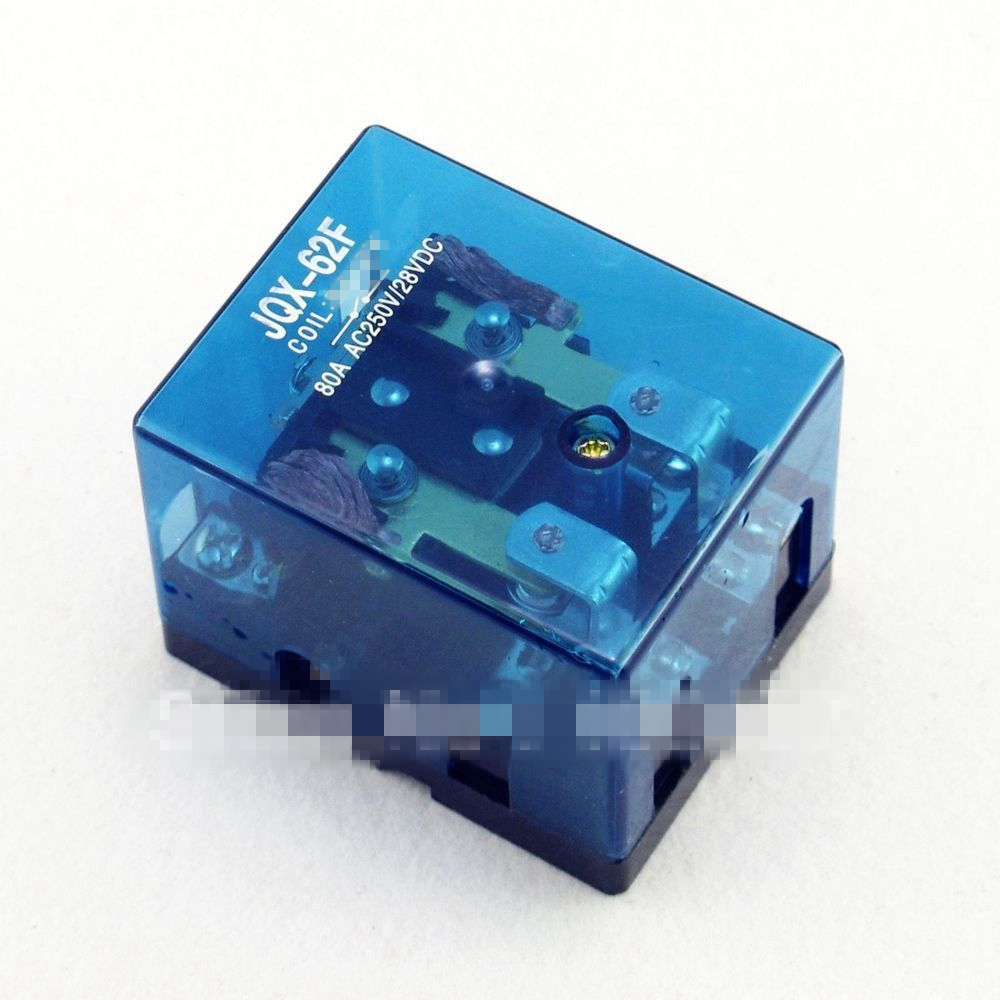 JQX-62F 2Z 80A DPDT AC 220VAC Coil Electromagnetic Power Relay jqx 62f 120a coil high power relay ac 220v