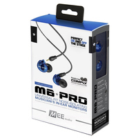 100 Original MEE Audio M6 PRO Universal Fit Noise Isolating Earphones Professional Musician S In Ear