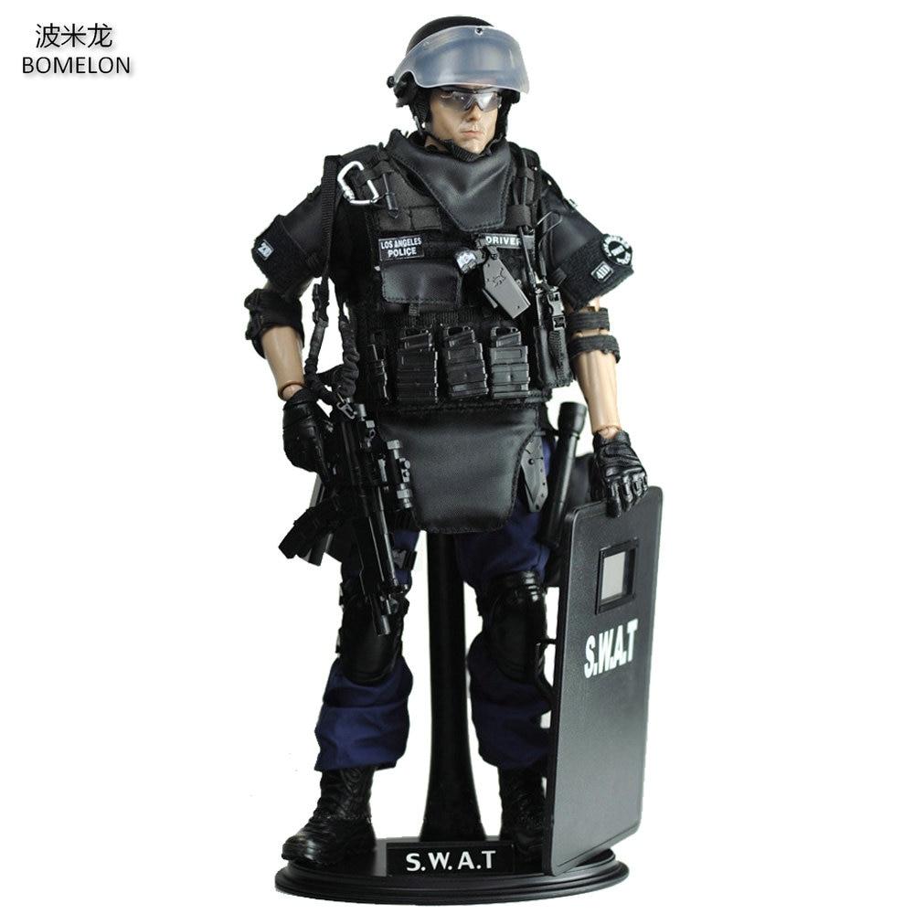30 cm SWAT POINT-HOMME Spécial Police Action Figure Poupée Commune 1/6 Échelle Modèle Soldat Armée Jouets Enfants Garçons jouets Cadeau D'anniversaire