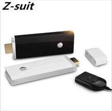 WI-FI HDMI Dongle передатчик и приемник smart Беспроводной TV Stick 1080 P Miracast Поддержка Android/IOS/WIN8.1 двойной Core 2.4 г + 5 г