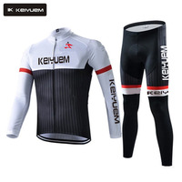 2017 New Pro Winter Thermal Fleece Cycling Clothing Set Maillot Rock Bicycle Wear Ropa Ciclismo Bike MTB Clothes Mens
