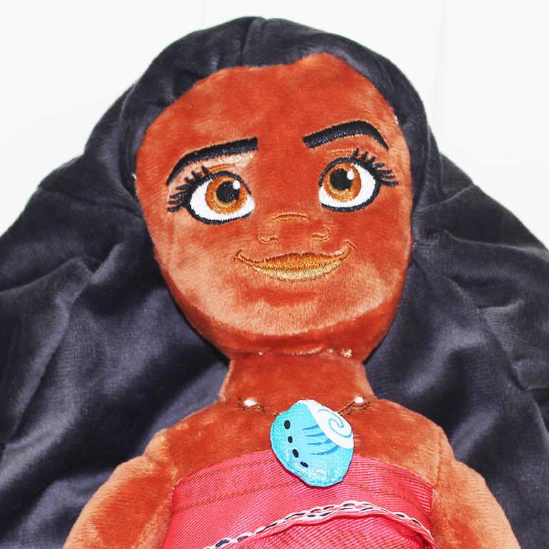 50cm princesse en peluche dessin animé poupée jouet Maui chef en peluche en peluche cadeau pour noël