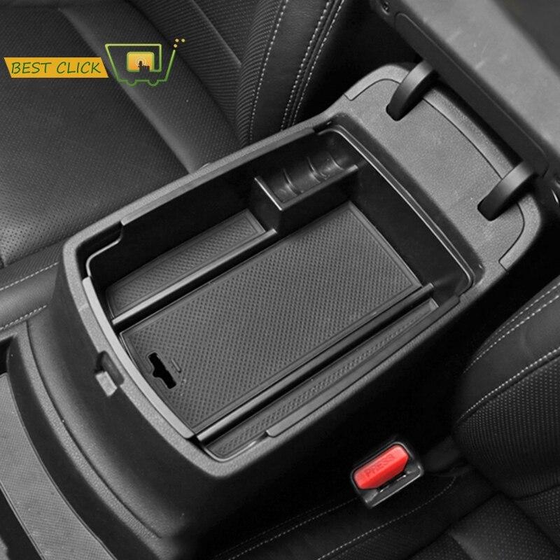 For Kia Sportage 2017-2019 Car ABS Tray Console Armrest Storage Glove Box US St