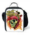 non-mainstream Skull Lunch Bag for Women Men insulated Adult Lunchbag Casual Student Kids Lunchbox Bolsa Termica Picnic Food Bag