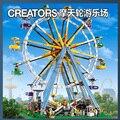 Создатель Экспертов Колесо обозрения Строительного Кирпича Образования Игрушки Девушки Подарок Совместимость Legoes 10247