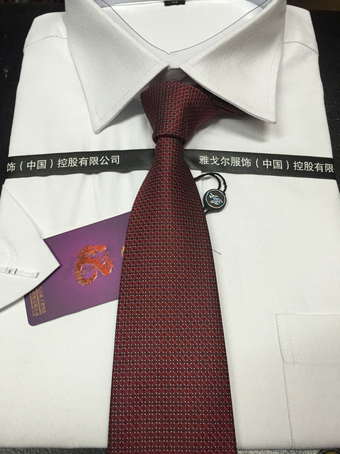 2015 HOT high quality Fashion and leisure business tie silk tie G boutique high quality luxury brand men's Gift