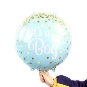 Image 5 - 5 pçs/lote balões folha BEBÊ é um MENINO MENINA balões de hélio para a festa de aniversário do chuveiro de bebê decoração menina ar balao brinquedos clássicos