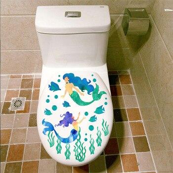 Sealife fish toilet seat stickers