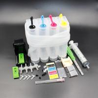 TINTE WEG DIY CISS 302XL ersatz für 302 XL tinte patrone Für HP Deskjet 2130 2135 1110 3630 3632 Officejet 3830 3834 4650-in Fortlaufendes Tinten-Versorgungssystem aus Computer und Büro bei
