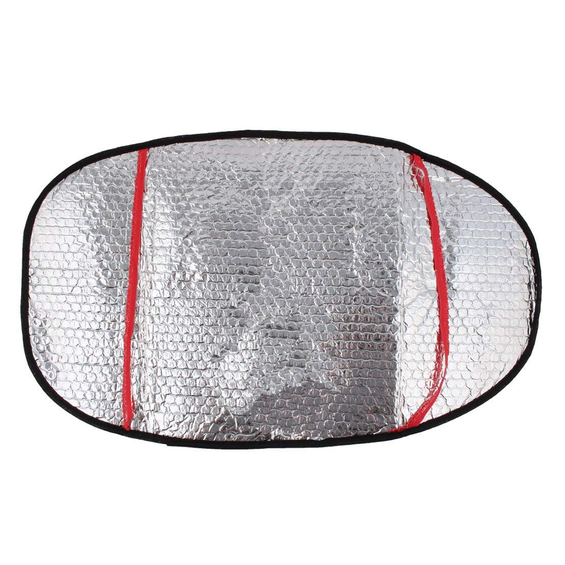 Sperrins Aluminum Foil Motorcycle Electric Car Water resistant Sunscreen Heat Insulation Mat Seat Cover Silver Color