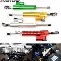 Universal New CNC Aluminum Motorcycle Steering Damper Stabilizer Adjustable For Honda CBR1000RR CBR 1000 RR VTR250 VTR 250