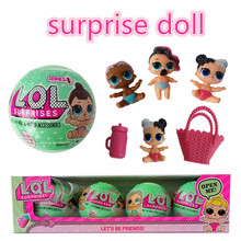1pcs LOL Surprise doll Unpacking baby dolls Dress Up Toys Models Baby Funny Toys Girl Boy Gifts doll surprise