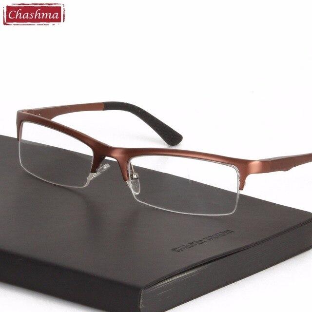Chashma Brand Western Style Eyeglass Men Eye Glasses Frame Super ...